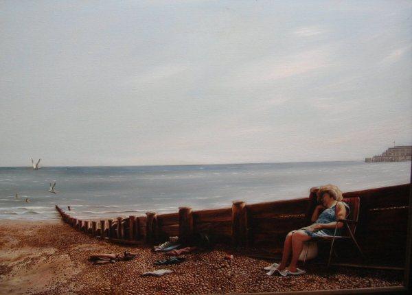Strand bij Bognor Regis